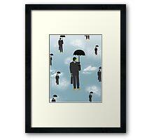 Mallard Magritte Framed Print