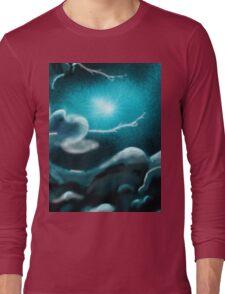 Romantic Rainy cloud in sky Long Sleeve T-Shirt
