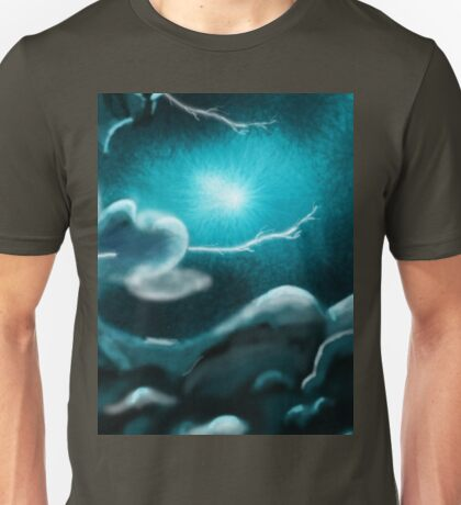 Romantic Rainy cloud in sky Unisex T-Shirt