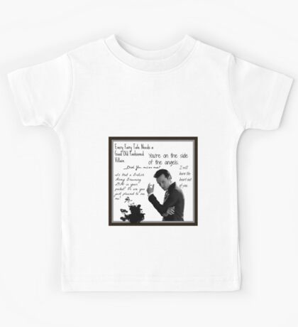 Moriarty Villain Quotes Kids Tee