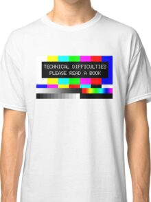 Please read a book Classic T-Shirt