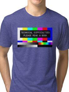 Please read a book Tri-blend T-Shirt