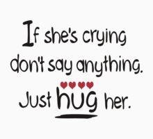 Hug her by cheeckymonkey