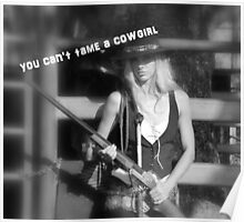 YOU CAN'T TAME A COWGIRL Poster