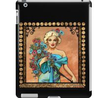 MM mucha like beige iPad Case/Skin