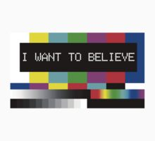 I want to believe - TV by baygonwarrior