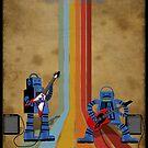 Retro Robot Rock by surlana
