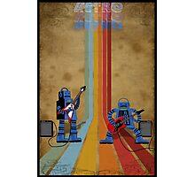 Retro Robot Rock Photographic Print