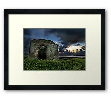Instow Lookout Tower Framed Print