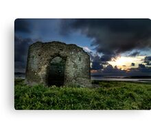 Instow Lookout Tower Canvas Print