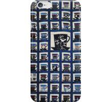 Japanese Quilt # 24 iPhone Case/Skin