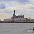 Old C N J rail terminal Jersey City NJ by pmarella
