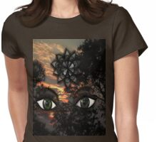 Vision of Nature Womens Fitted T-Shirt
