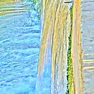Water on Steps by Rosalie M