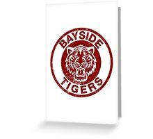 Bayside Tigers Greeting Card