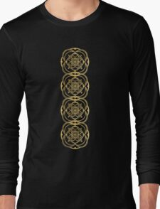 Nights in Blue and Gold Long Sleeve T-Shirt