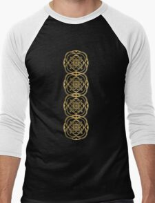 Nights in Blue and Gold Men's Baseball ¾ T-Shirt