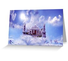 Palace and sky  Greeting Card
