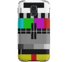 No signal TV Screen Samsung Galaxy Case/Skin
