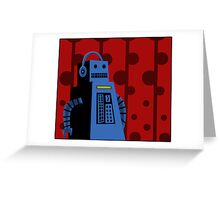 Badbot Greeting Card