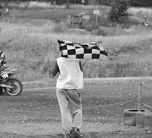 Checkered Flag by tammyins