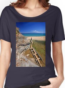 There, at last! - Potami beach, Evia island Women's Relaxed Fit T-Shirt