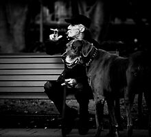 A man's best friend the whole picture by David Petranker