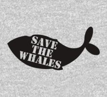 Save the Whales Kids Clothes