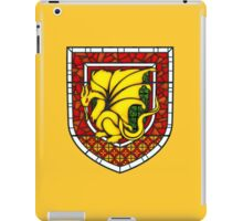 Stained Glass Pendragon Crest iPad Case/Skin