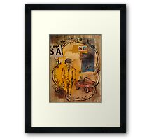 the merinthophobic ghost at the carlyle Framed Print