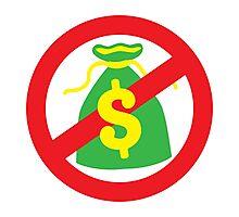 NO MONEY poor bags Photographic Print