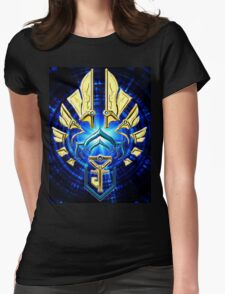 Ingress - Resistance BLUE Gold Coast Womens Fitted T-Shirt