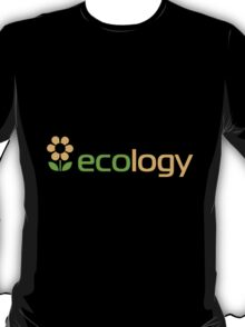 Ecology inscription T-Shirt