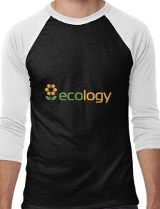 Ecology inscription Men's Baseball ¾ T-Shirt