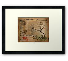 the hope that insomniacs can reach the dreamland Framed Print