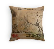 the hope that insomniacs can reach the dreamland Throw Pillow