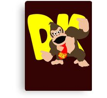 Super Smash Bros Donkey Kong Canvas Print