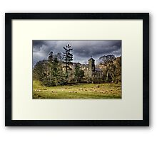Sanctuary in the Storm Framed Print