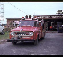Langwarrin Fire Brigade  1965 by Tom Newman