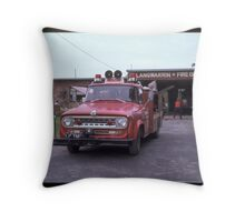 Langwarrin Fire Brigade  1965 Throw Pillow