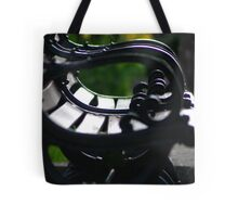 Downtown Tulips Tote Bag