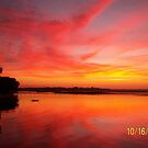red sky morning by paintin4him