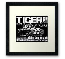 Tiger II Framed Print