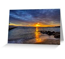 Cameron's Bight sunrise Greeting Card