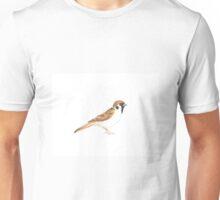 Realistic Little Sparrow Unisex T-Shirt