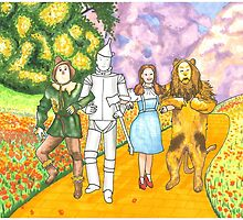 Follow the Yellow Brick Road by theartsyginger