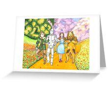 Follow the Yellow Brick Road Greeting Card
