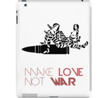 Bullet War Love iPad Case/Skin