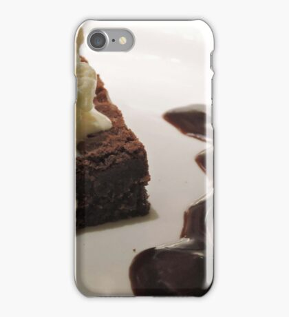 Chocolate Squiggle  iPhone Case/Skin