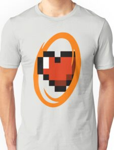 Portal Lover ! Orange Unisex T-Shirt